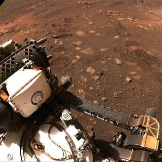 Un auto su Marte