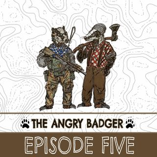 The Angry Badger Episode 5: Surveillance apps, armed police, gear reviews