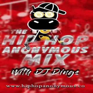 The Hip Hop Anonymous Mix Vol.12 Dj Dings Live In Da Mix Spinnin' Everything Hip Hop!