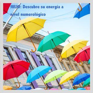 Energía Numerológica del Mes de Julio de 2019