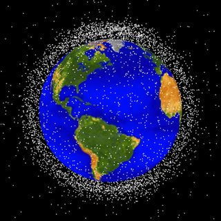 Too Much Stuff Orbiting Earth
