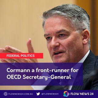 Is Matthias Cormann (@MathiasCormann) close to getting the nod to lead at OECD?
