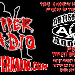Ripper Podcast Artist Against Addiction Interview 8.12.19