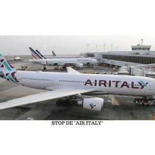 """""""AIR ITALY""""  C'EST FINI à partir du 25/02/2020"""