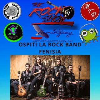 TheRockShow ospiti fenisia Band