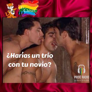 ¿Harías un trio sexual?