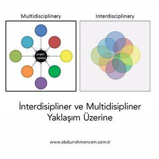 İnterdisipliner ve Multidisipliner Yaklaşım Üzerine