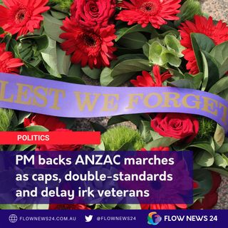 PM's ANZAC call backed as Vic Opposition push for march details @CoalitionVic / @TheNationalsVic