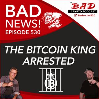 The Bitcoin King Arrested - Bad News For July 7th with Give Directly