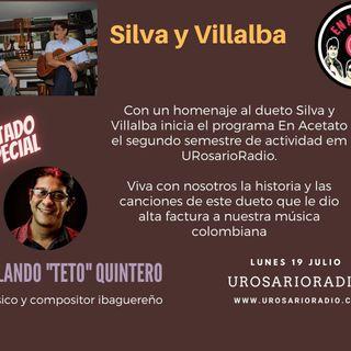 Silva y Villalba: medio siglo cantando a Colombia