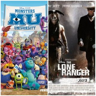 Damn You Hollywood: Monsters University and The Lone Ranger (2013)