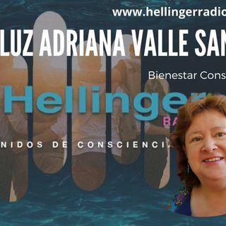 Luz Adriana Valle Santa en entrevista de la Hellinger Radio