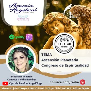 Armonía Angelical - Ascención Planetaria, Congreso de Espiritualidad