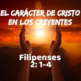 El Carácter de Cristo en el creyente