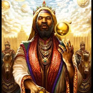Mansa Musa was black Santa Claus