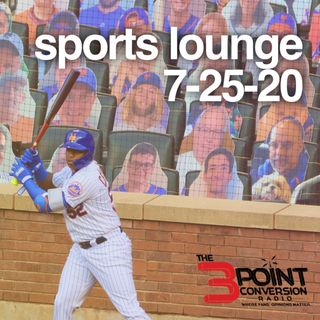 The 3 Point Conversion Sports Lounge- Sports Is Back, Is NFL Making The Right Decision, NBA Western Conference, MLB Extended Playoffs