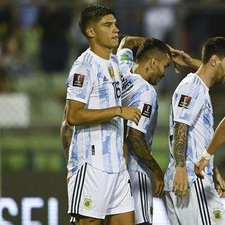 Gol de Argentina: Joaquín Correa 0-3