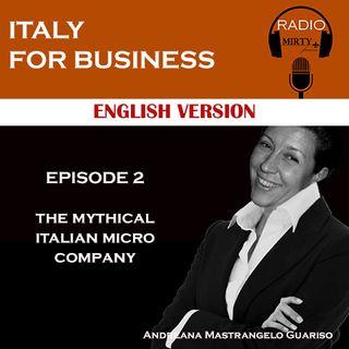 The mythical italian micro company