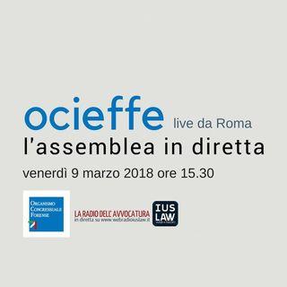 Assemblea Ocieffe venerdì 09 marzo 2018