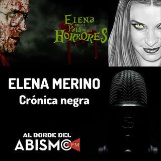 ELENA MERINO. Crónica negra: el podcasting de crímenes y sucesos