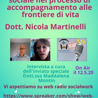 Nicola Martinelli. Il ruolo dell'assistente sociale nel processo di accompagnare alle frontiere di vita