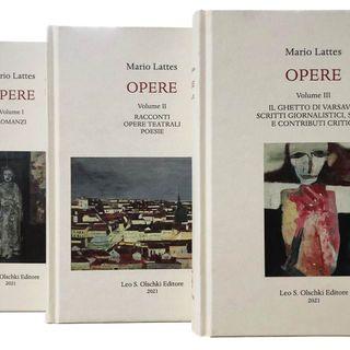 """Giovanni Barberi Squarotti """"Opere di Mario Lattes"""""""