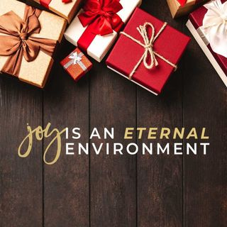 Joy Is An Eternal Environment