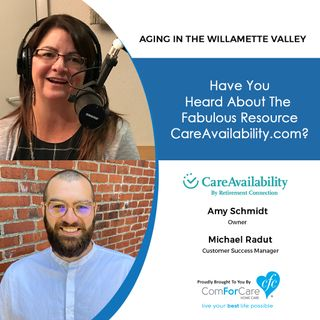 8/22/20: Amy Schmidt and Michael Radut from Care Availability | Have you heard about the fabulous resource Care Availability?