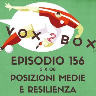 Episodio 156 (5x08) - Posizioni Medie e Resilienza