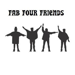 """FFF """"FAB FOUR FRIENDS"""" 1° PROGRAMA"""