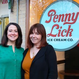 Fork This: IntoxiKate interviews Ellen Sledge of Penny Lick Ice Cream