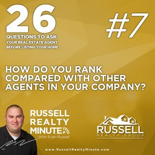 How do you rank compared with other agents in your company?