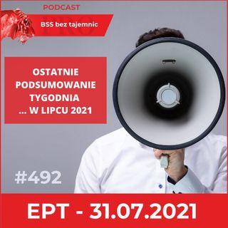 #492 EPT na ostatni tydzień lipca 2021