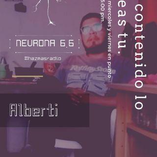 El contenido lo creas tú: Alberti