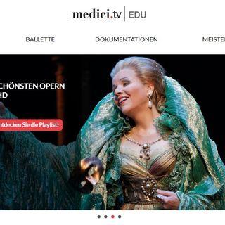 103. Wir stellen vor: Medici TV - für Liebhaber der klassischen Musik; und wir wagen einen Blick in die Zukunft