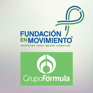 """""""Fundación en Movimiento y Operation Respect juntos para lograr escuelas de paz en México"""" Trixia Valle en Grupo Fórmula"""
