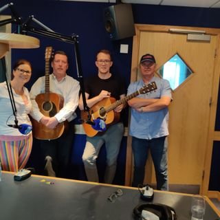 The Bluelight Smugglers did a session in studio ahead of the Bluegrass Festival in Dunmore