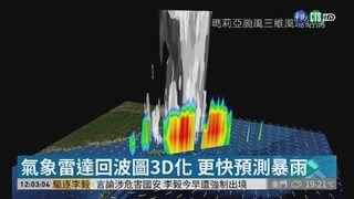 12:46 氣象雷達回波圖3D化 提早防範暴雨 ( 2019-04-12 )