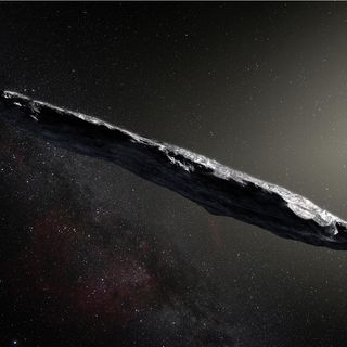 A Visitor From the Stars: 'Oumuamua