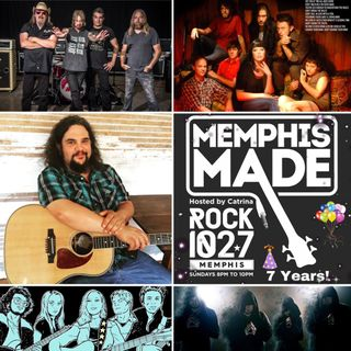 Catrina Celebrates 7 Years of Memphis Made on Rock 102.7 (7/28/19)