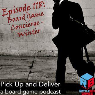PUaD 118: Board Game Concierge - Winter