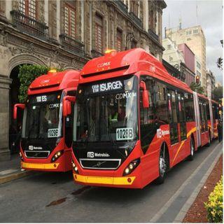 Cierre de estaciones del Metrobús por contingencia