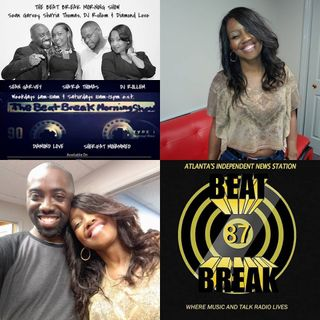 THE BEAT BREAK MORNING SHOW FEAT. MUSICAL GUEST DYNASTY SMITH