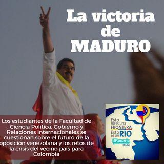 La victoria de Maduro