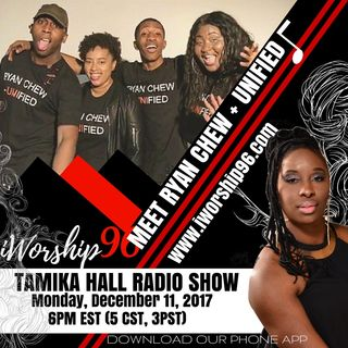 (Part One) Ryan Chew + Unified with Tamika Hall Radio Show