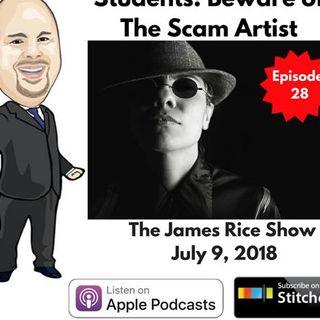 Episode 28 - Beware of the Scam Artist