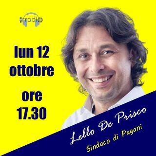 Intervista a Lello De Prisco, Sindaco di Pagani!