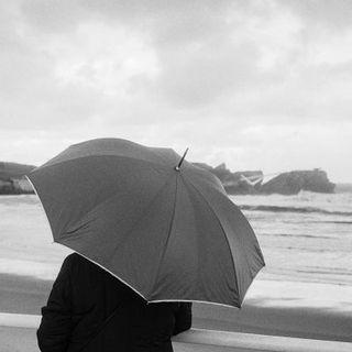 Observando la lluvia