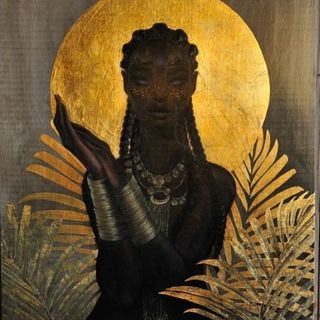 Gbadu - the African Goddess of Fate