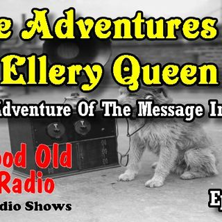 The Adventures Of Ellery Queen, The Adventure Of The Message In Red Ep. 1 | #oldtimeradio